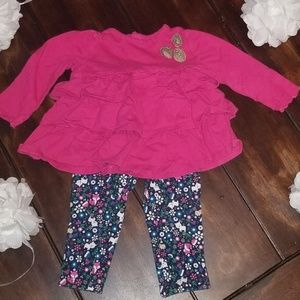 3-6mo two piece Carters outfit